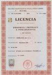 licencia č. pop 000103